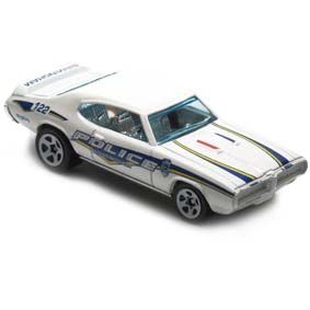 Hot Wheels Guia 2012 69 Pontiac GTO Judge Police V5469 series 5/10 165/247