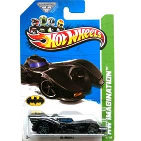 Hot Wheels Imagination 2013 Batmobile Batman (1989)  X1709 serie 61/250