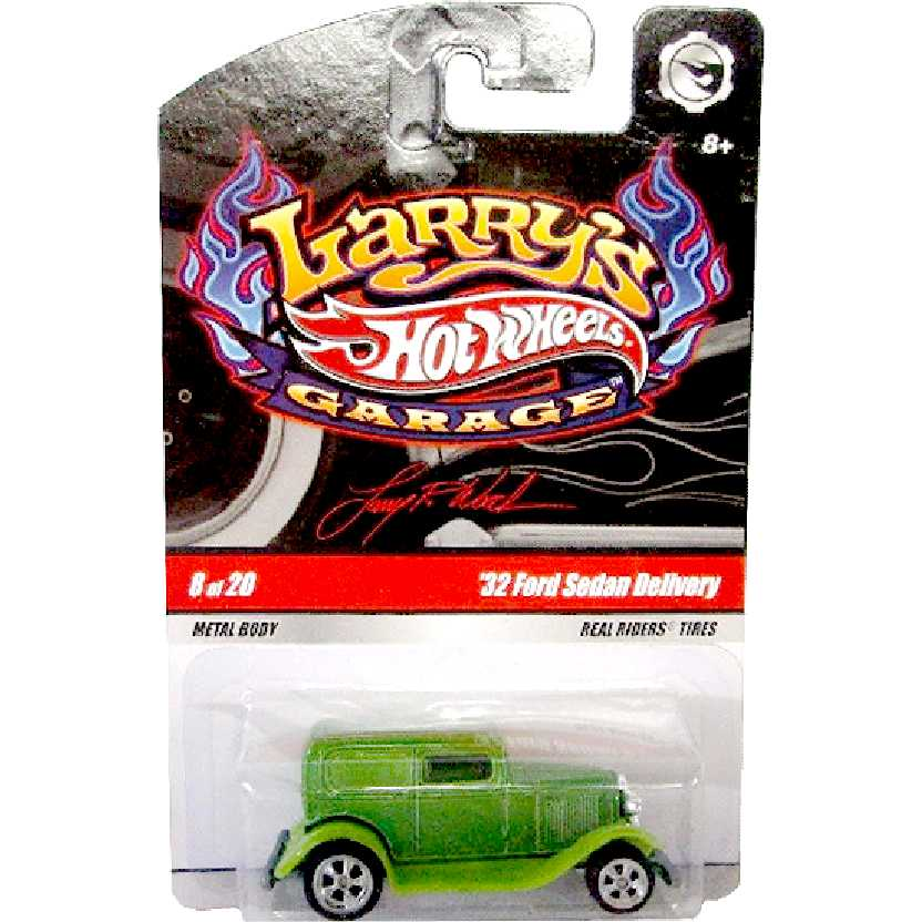 Hot Wheels Larrys Garage 32 Ford Sedan Delivery 8/20 N9052 escala 1/64