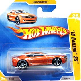 Hot Wheels linha 2009 10 Camaro SS N4029 orange series 26/42 026/166