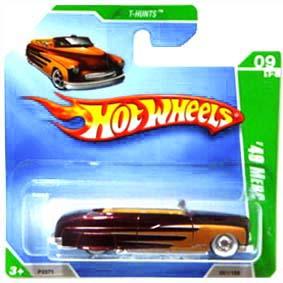 Hot Wheels linha 2009 49 Merc Super T-Hunt$ P2371 series 09/12 051/166
