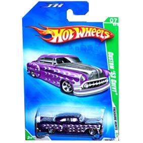 Hot Wheels linha 2009 Custom 53 Chevy T-Hunt Series 049 (cartela gde) P2357