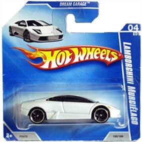 Hot Wheels Linha 2009 Lamborghini Murciélago P2470 series 04/10 150/166