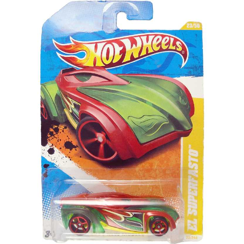 Hot Wheels linha 2011 El Superfasto series 23/50 23/244 T9693 escala 1/64