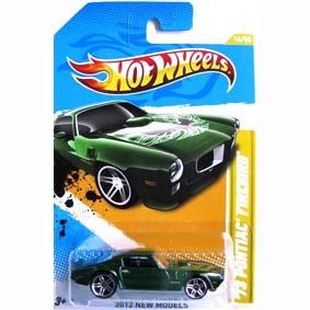 Hot Wheels linha 2012 73 Pontiac Firebird V5304 series 16/50 16/247