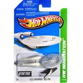 Hot Wheels linha 2013 U.S.S. Enterprise NCC-1701 X1630 series 60/250
