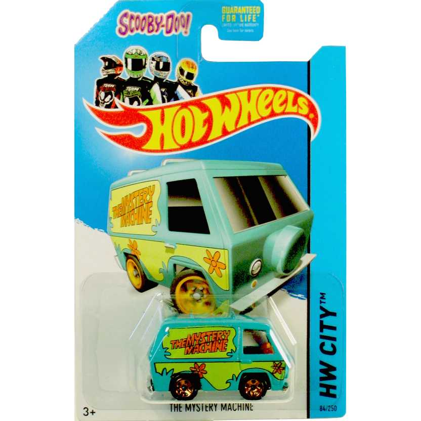 Hot Wheels linha 2014 The Mystery Machine Scooby-Doo! series 24/250 BFC93