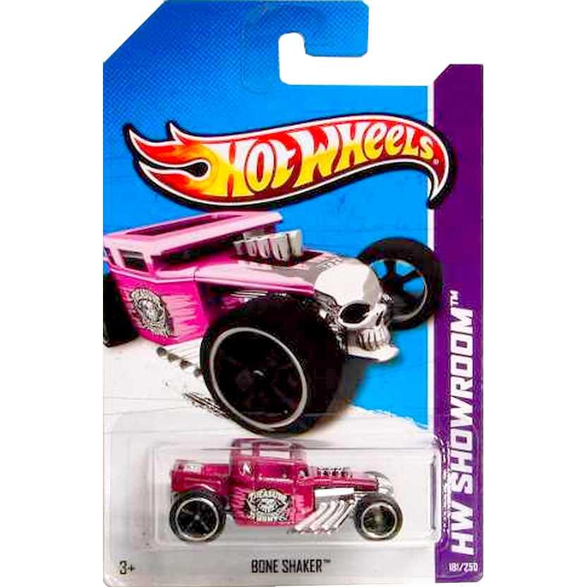Hot Wheels Lote 2013 Super Treasure Hunt Superized Bone Shaker X2019 181/250
