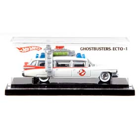 Hot Wheels Mais Raro do Mundo em 2010 ECTO-1 Ghostbusters Caça Fantasmas