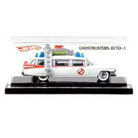 Hot Wheels Mais Raro do Mundo em 2010 ECTO-1 Ghostbusters Caça Fantasmas