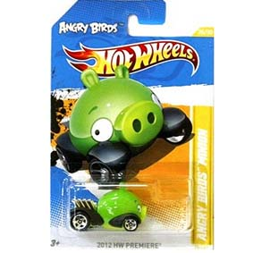 c2e185d7a Hot Wheels Minion Pig Angry Birds comprar Porco verde 2012 V5323 Series 47 50  47