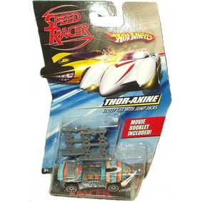 Hot Wheels na escala 1/64 Thor-Axine M4529/M5938 ( Filme Speed Racer )