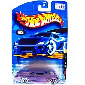Hot Wheels Poster 2001 Treasure Hunt Shoe Box 50095 Rat Rods series 060 4/4
