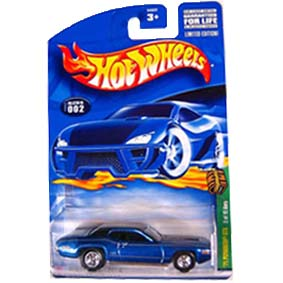 Hot Wheels Poster 2002 T-Hunt Treasure Hunt 71 Plymouth GTX 54322 002