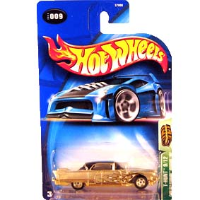 Hot Wheels Poster 2003 T Hunt Cadillac Eldorado Brougham 1957 57008 009 9/12