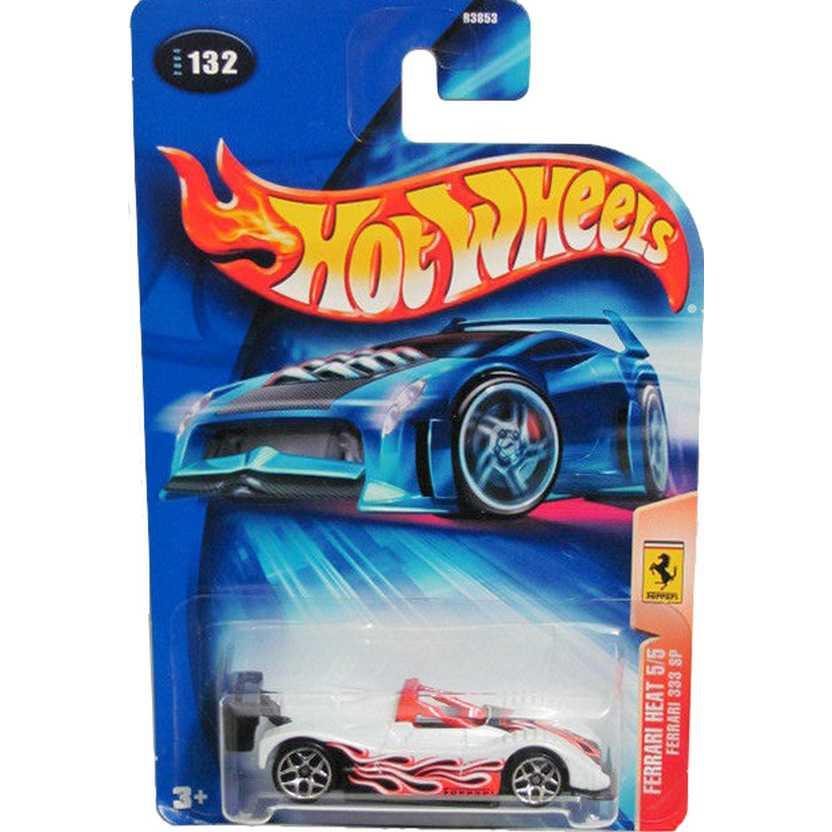 Hot Wheels Poster 2004 Ferrari 333 SP B3853 #132 series 5/5 escala 1/64