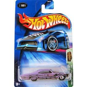Hot Wheels Poster 2004 T-Hunt Pontiac Bonneville 1965 B3570 101 1/12