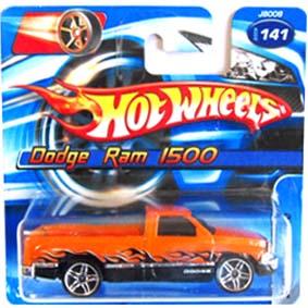Hot Wheels Poster 2006 Dodge Ram 1500 J8008 serie 141