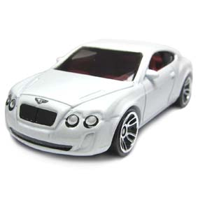 Hot Wheels Poster 2012 Bentley Continental Supersports V5324 36/50 36/247