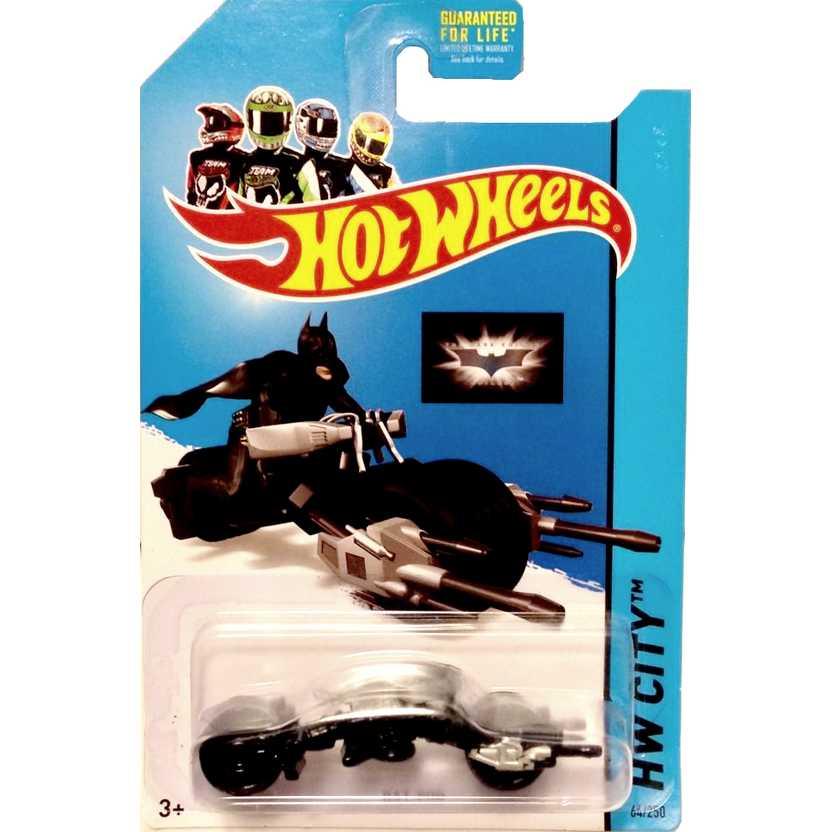 Hot Wheels poster 2014 Bat-Pod series 64/250 BFC76