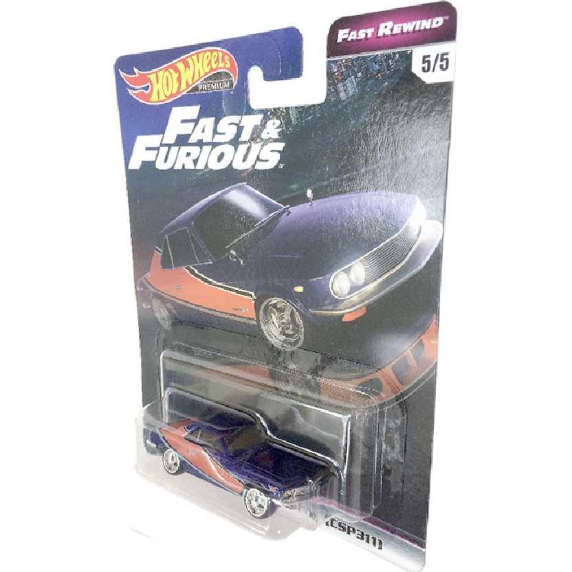 Hot Wheels Premium Fast Furious Velozes e Furiosos Nissan Silvia (CSP311) 5/5 TPN9 1/64