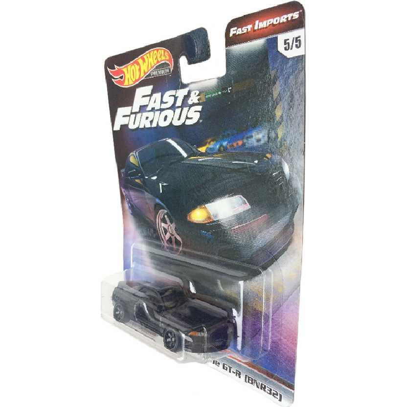 Hot Wheels Premium Fast Furious Velozes e Furiosos Nissan Skyline GT-R BNR32 5/5 TPN9 1/64