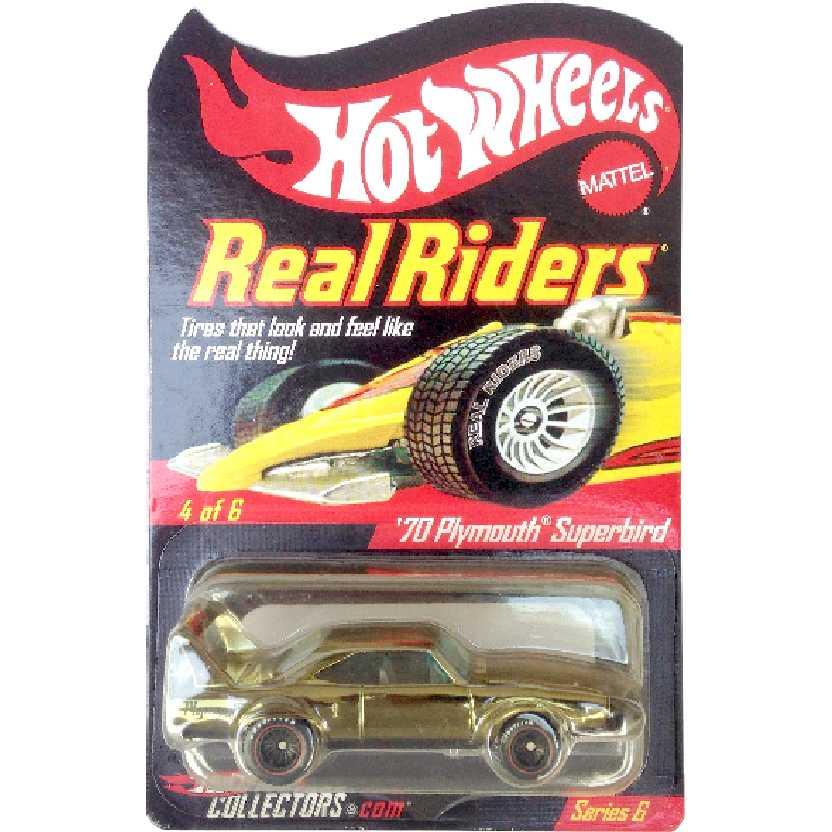 Hot wheels Real Riders 70 Plymouth Superbird 4/6 series 6 L2094 escala 1/64