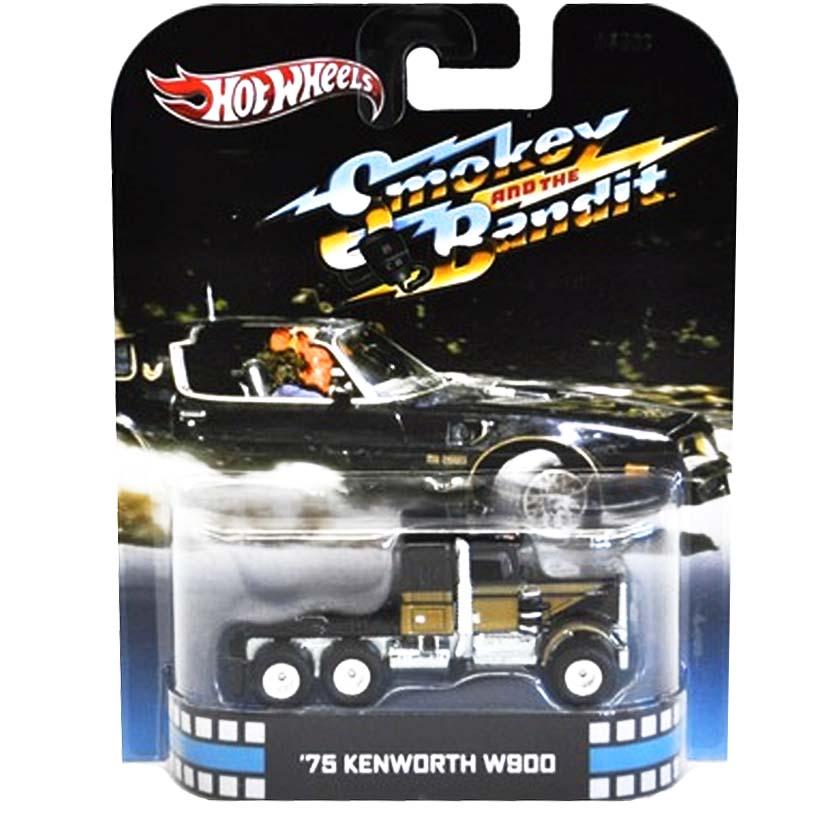 Hot Wheels Retro Entertainment Agarre-me se Puderes 75 Kenworth W900 X8932