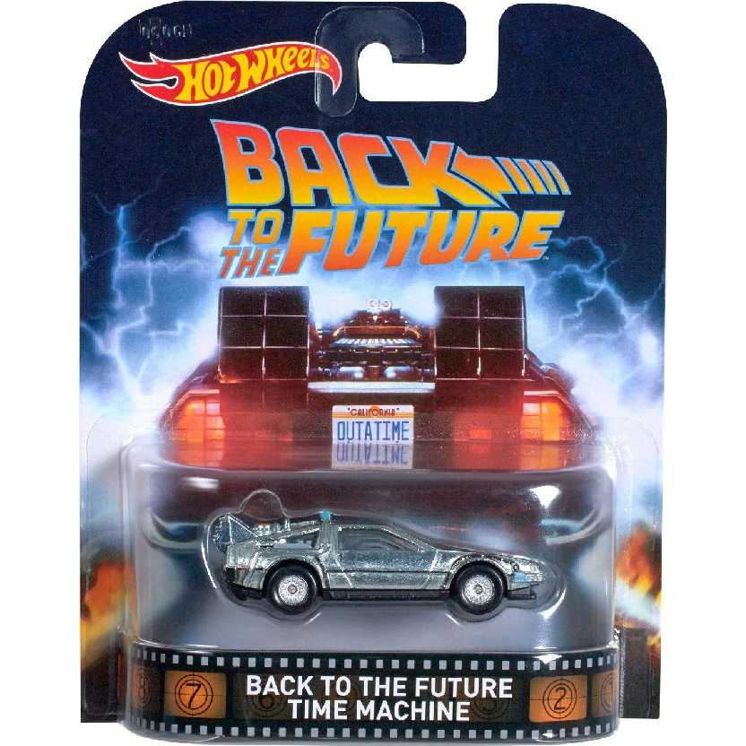 Hot Wheels Retro Entertainment Back To The Future Delorean DJF49 escala 1/64