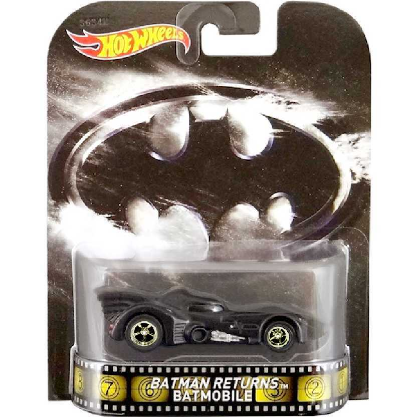 Hot Wheels Retro Entertainment Batman Returns Batmobile BDV02 escala 1/64