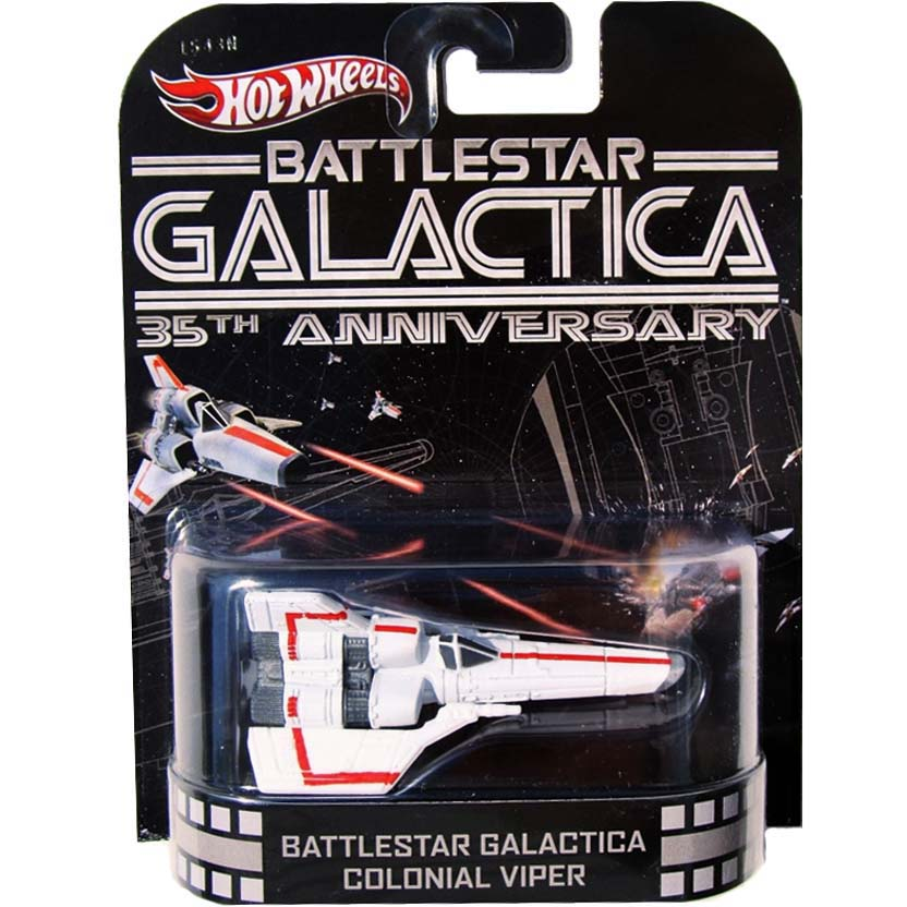 Hot Wheels Retro Entertainment Battlestar Galactica Colonial Viper (X8898)