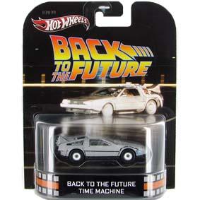 Hot Wheels retro entertainment Delorean Back to The Future X8924 escala 1/64
