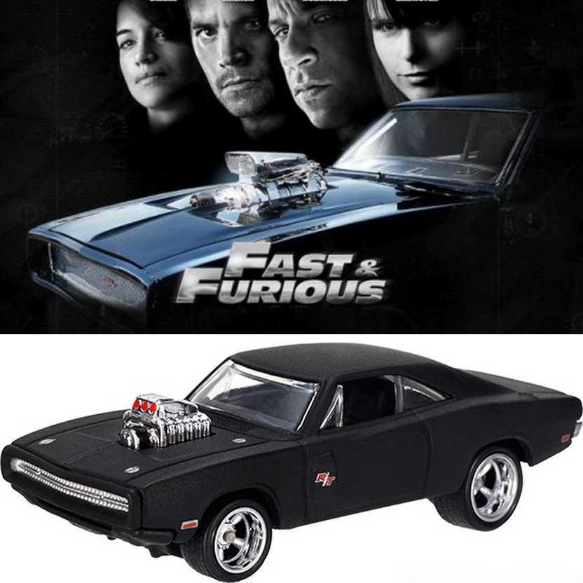 Hot Wheels Retro Entertainment Fast and Furious - 70 Dodge Charger R/T BDT95