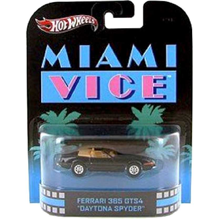 Hot Wheels retro entertainment Ferrari 365 GTS4 Miami Vice X8923 escala 1/64
