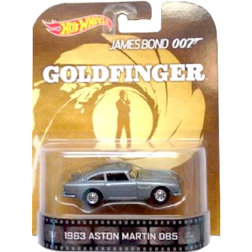Hot Wheels Retro Entertainment James Bond 007 1963 Aston Martin DB5 BDV04 escala 1/64