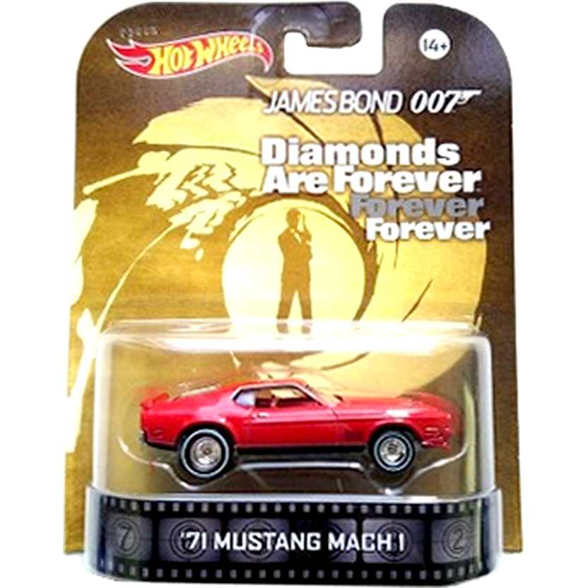 Hot Wheels Retro Entertainment James Bond 007 71 Mustang Mach 1 BDV01 escala 1/64