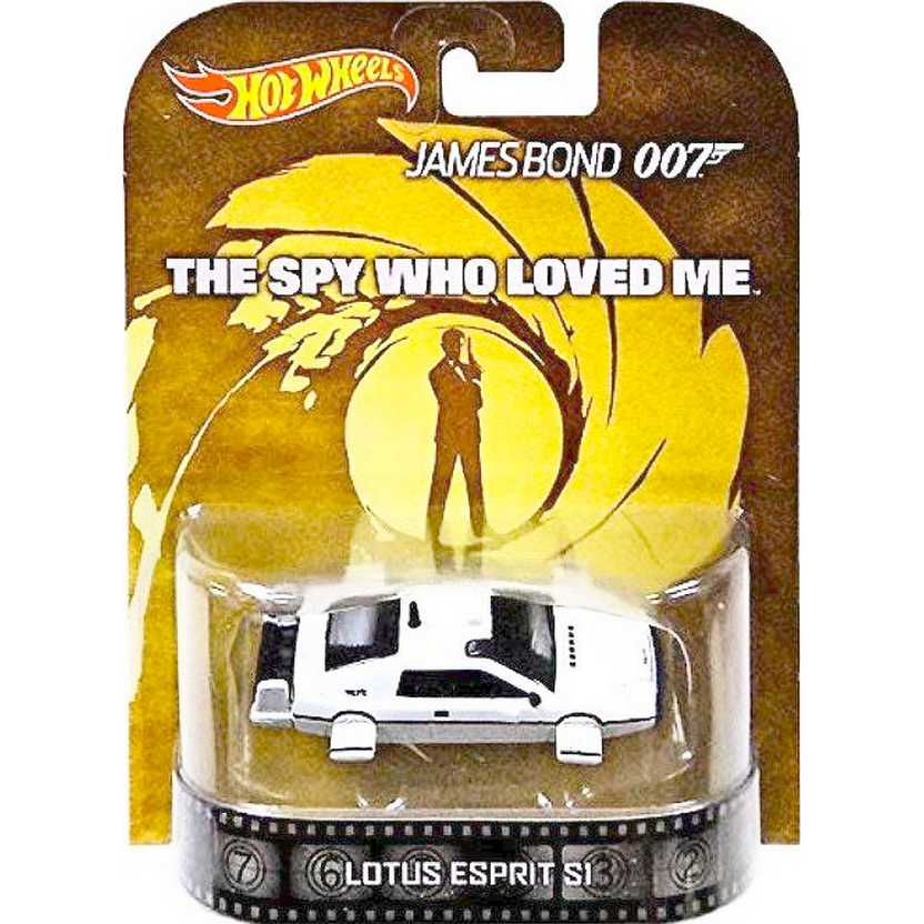 Hot Wheels Retro Entertainment James Bond 007 - Lotus Sprit S1 BDT92 The Spy Who Loved Me