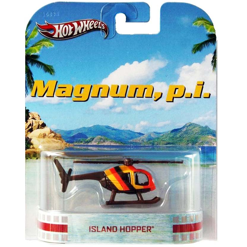 Hot Wheels Retro Entertainment Magnum, p.i. Island Hopper Helicóptero X8897