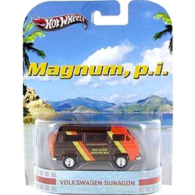 Hot Wheels Retro Entertainment Magnum, p.i. Volkswagen Sunagon X8927 escala 1/64