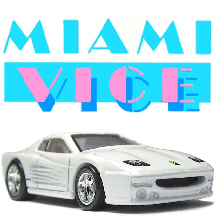 Hot Wheels retro entertainment Miami Vice Ferrari F512 M X8915 escala 1/64