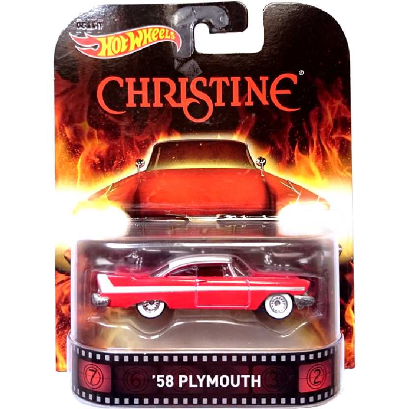 Hot Wheels Retro Entertainment O Carro Assassino: Christine 58 Plymouth CFR11 escala 1/64
