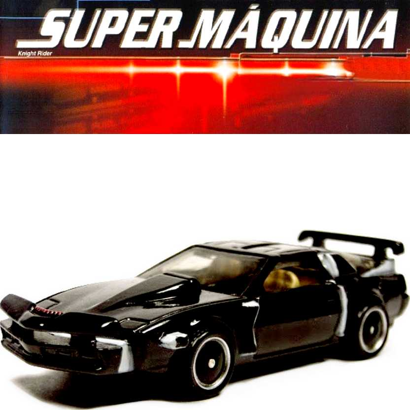 Hot Wheels Retro Entertainment Super Máquina KITT Super Pursuit Mode BDT94 escala 1/64