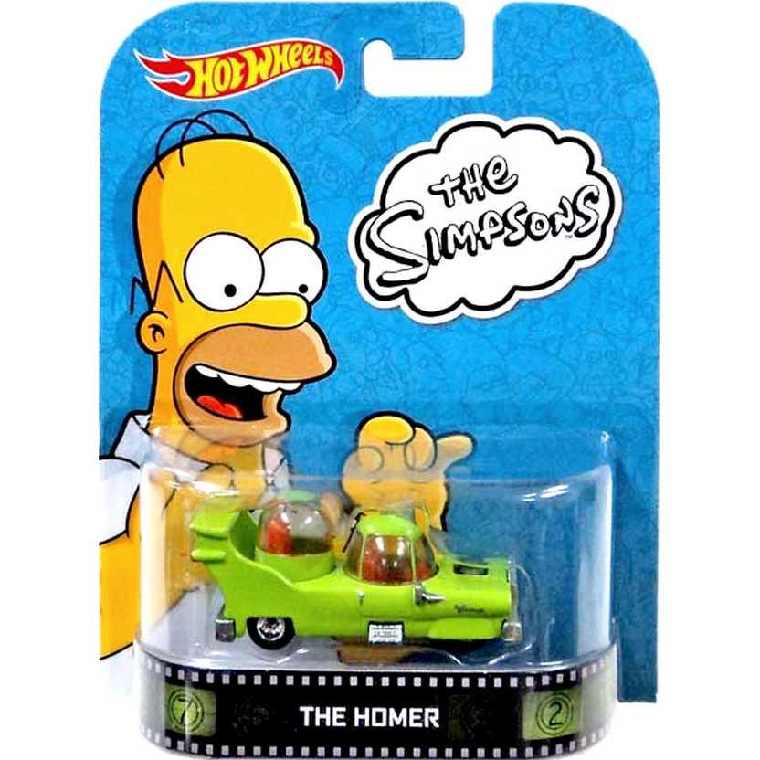 Hot Wheels Retro Entertainment The Homer BDV00 escala 1/64