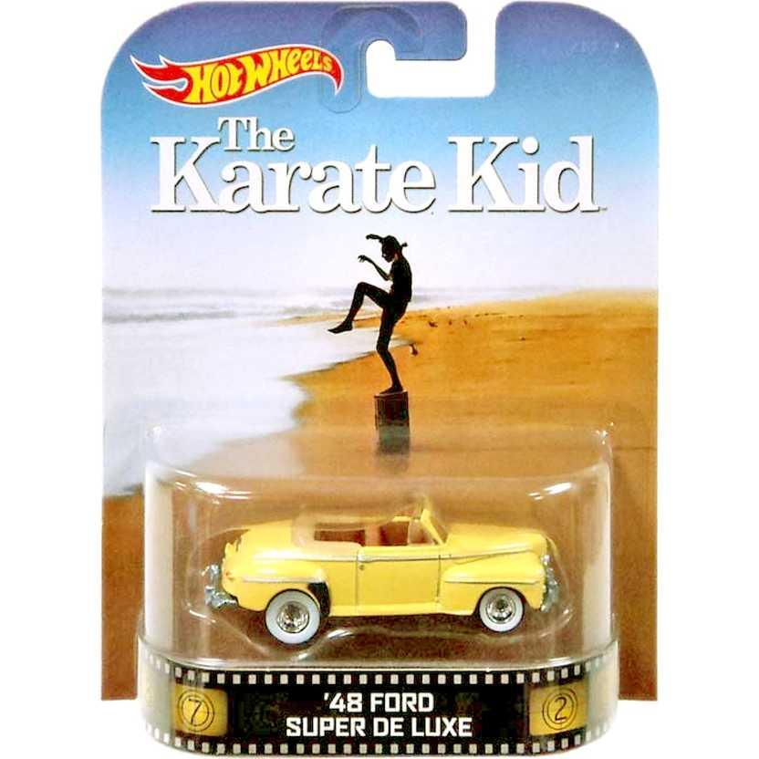 Hot Wheels Retro Entertainment The Karate Kid 48 Ford Super De Luxe escala 1/64 BDT84