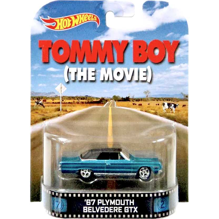 Hot Wheels Retro Entertainment Tommy Boy (The Movie) 67 Plymouth Belvedere GTX 1/64 BDT81
