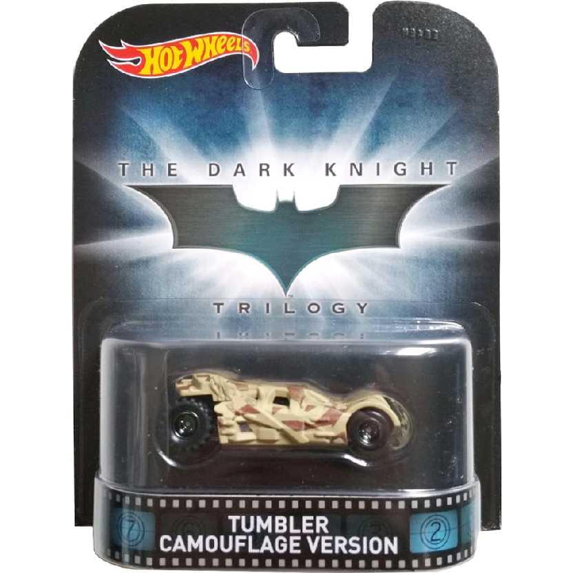Hot Wheels Retro Entertainment Tumbler Camouflage version CFR16 escala 1/64