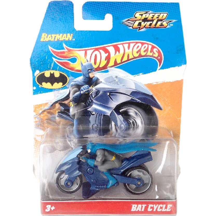 Hot Wheels Speed Cycles Bat Cycle + Batman V1939 Raridade