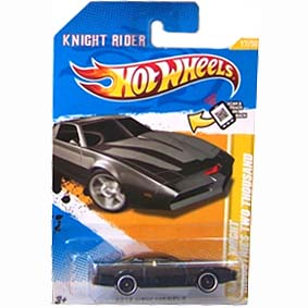 Hot Wheels Super Máquina 2012 K.I.T.T. Knight Rider Industries Two Thousand V5305