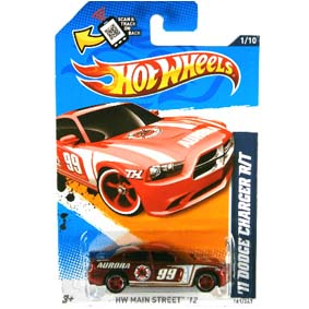 Hot Wheels Super Treasure Hunt 2012 list Superized 11 Dodge Charger R/T V5383 1/10 161/247