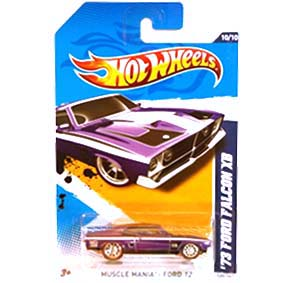 Hot Wheels Superized 2012 Super Treasure Hunts 73 Ford Falcon XB V5372 series 10/10 120/247